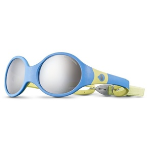 Sun glasses Julbo LOOP L SP4 BABY blue cyan / yellow green, Julbo