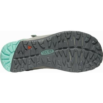 Sandals Keen TERRADORA II Toe Post Women dark light grey/ocean wave, Keen