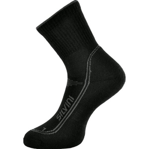 Socks Silvini Lattari UA904 black-charcoal, Silvini
