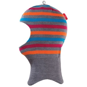 Children fleece balaclava Kama DB21 109 grey, Kama
