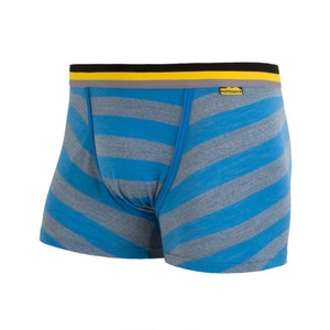 Boxer shorts Sensor Merino Wool Active blue stripes 16200097, Sensor