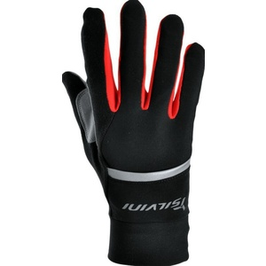 Unisex gloves Silvini Isonzo UA905 black-red, Silvini