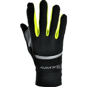 Unisex gloves Silvini Isonzo UA905 black-neon, Silvini