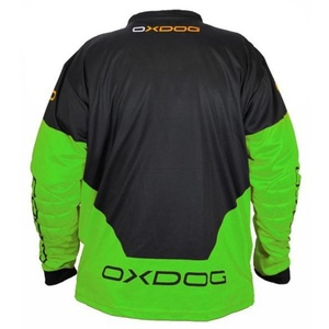 Goalkeeper jersey OXDOG VAPOR GOALIE SHIRT black / green, Exel