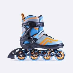 Roller skates Spokey Avati turquoise, Spokey