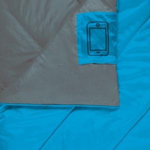 Sleeping bag blanket Spokey COZY II blue, Spokey