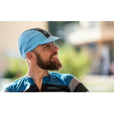Cycling cap under helmet Rogelli RETRO, blue-black 009.968, Rogelli