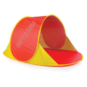 Beach paravan Spokey NIMBUS a self-deployable red, Spokey