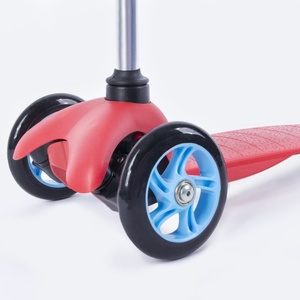 Folding three-wheeler Spokey BUL LER red, Spokey