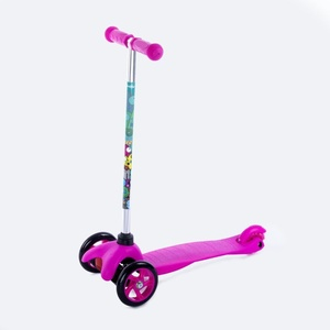 Folding three-wheeler Spokey BUL LER pink, Spokey
