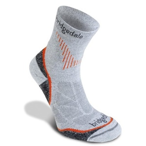 Socks Bridgedale CoolFusion Run QW-ik grey/801, bridgedale