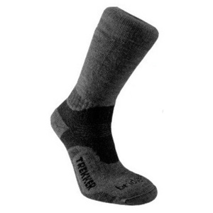 Set socks Bridgedale Trekker 21st Year Twinpack black/grey/816, bridgedale