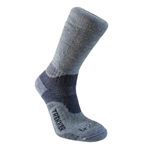 Set socks Bridgedale Trekker 21st Year Twinpack Women's ML silver/black/852, bridgedale