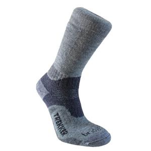 Set socks Bridgedale Trekker 21st Year Twinpack Women's ML silver/black/852