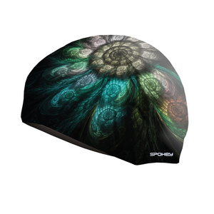 Swimming cap Spokey STYLO black pattern seashell, Spokey
