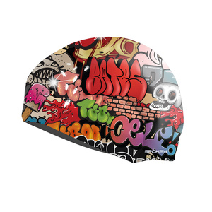 Swimming cap Spokey STYLO graffiti, Spokey
