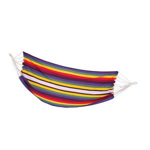 Hammock net Spokey SAMBA colors stripes, 100 x 210 cm, Spokey