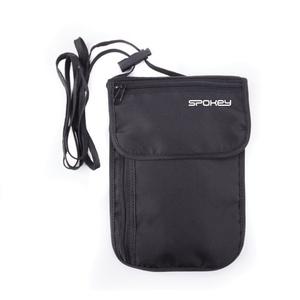 Travel wallet to neck Spokey INTERCITY 1 black, Spokey