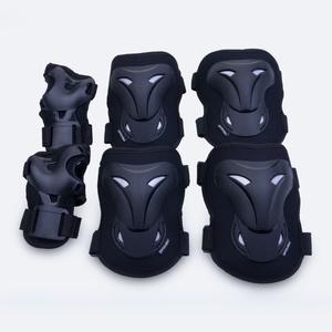 Set protectors Spokey POLEYN black, Spokey