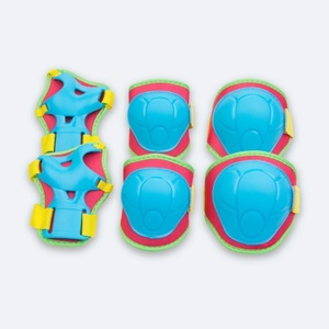 Set children protectors Spokey BUFFER blue, Spokey