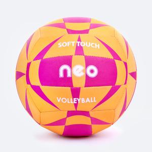 Volleyball ball Spokey NEO SOFT yellow-pink, Spokey