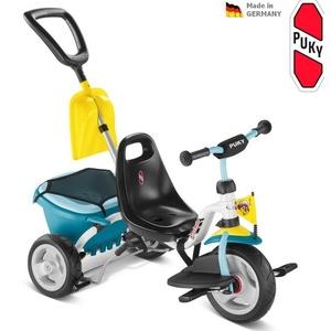 Three-wheeler PUKY Carry CAT 1SP light blue 2437, Puky
