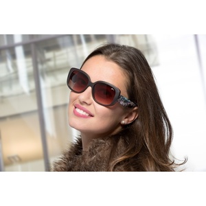 Sun glasses RELAX Ebon brown R0313A, Relax