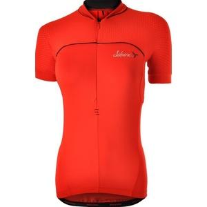 Women's cycling jersey Silvini CATIRINA WD1002 red, Silvini