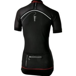 Women's cycling jersey Silvini CATIRINA WD1002 black-red, Silvini