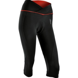 Women 3/4 cycling pants Silvini Tinelli WP1010 black-red, Silvini