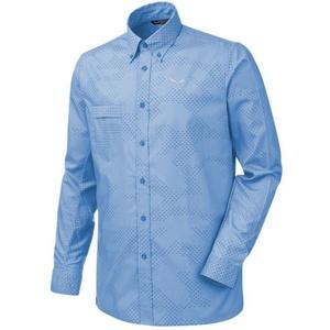 Shirts Salewa Puez CAMO DRY M L/S SHIRT 26332-8408, Salewa