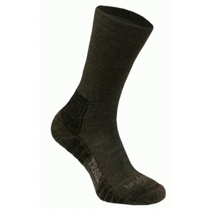 Socks Bridgedale WoolFusion Trail dark green/014, bridgedale