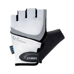 Bike gloves Chiba LADY GEL, white-black 30905.0110, Chiba