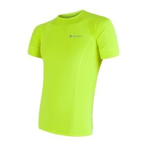 Men shirt Sensor Coolmax Fresh yellow reflex 17100004, Sensor