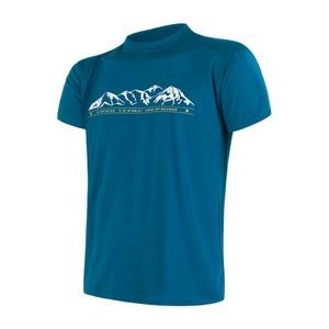 Men shirt Sensor COOLMAX FRESH PT Mountains sapphire 17100011