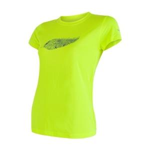 Women shirt Sensor COOLMAX FRESH PT FEATHER reflex yellow 17100040, Sensor