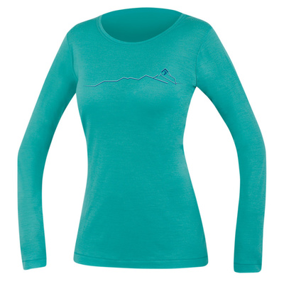 T-Shirt Direct Alpine Furry Long Lady menthol (spine), Direct Alpine