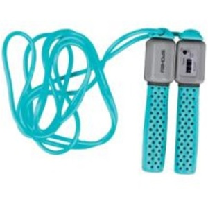 Jump rope with counter Spokey COUNTER ROPE II turquoise, Spokey