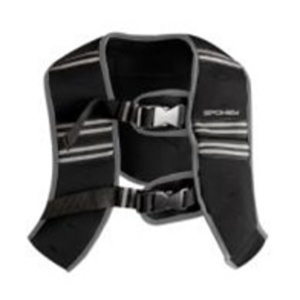 Vest with weight Spokey  BESTOW  II 5 kg size. M black, Spokey