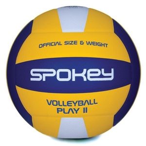 Volleyball ball Spokey PLAY II yellow-blue vel.5, Spokey
