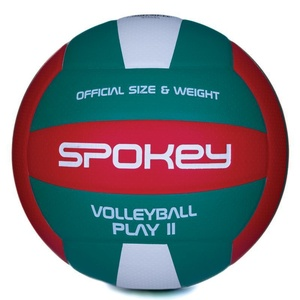 Volleyball ball Spokey PLAY II red-green vel.5, Spokey