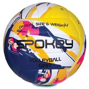 Volleyball ball Spokey GRIT violet-yellow č.5, Spokey
