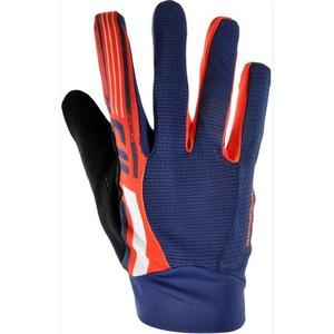 Men gloves Silvini GATTOLA MA1019 navy-orange, Silvini
