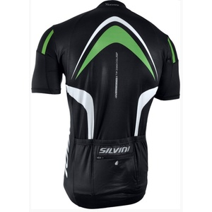Men cycling jersey Silvini LEMME MD603 black-forest, Silvini
