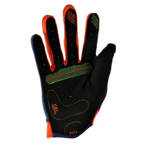Children gloves Silvini CERVO CA1027 navy-orange, Silvini