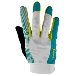 Women gloves Silvini FIORA WA1020 ocean-white, Silvini