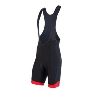 Men cycling pants Sensor Bicycle RACE black / red 17100077, Sensor