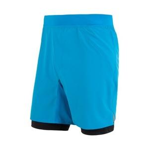 Men running shorts Sensor TRAIL black / reflex yellow 17100106, Sensor
