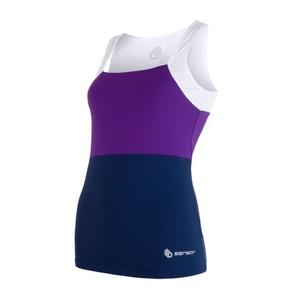 Women's undershirt Sensor Infinity white / purple / dark blue 17100112, Sensor