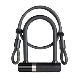 Lock AXA Newton Mini 150/14 + cable 100/8 key black 59502795SS, AXA